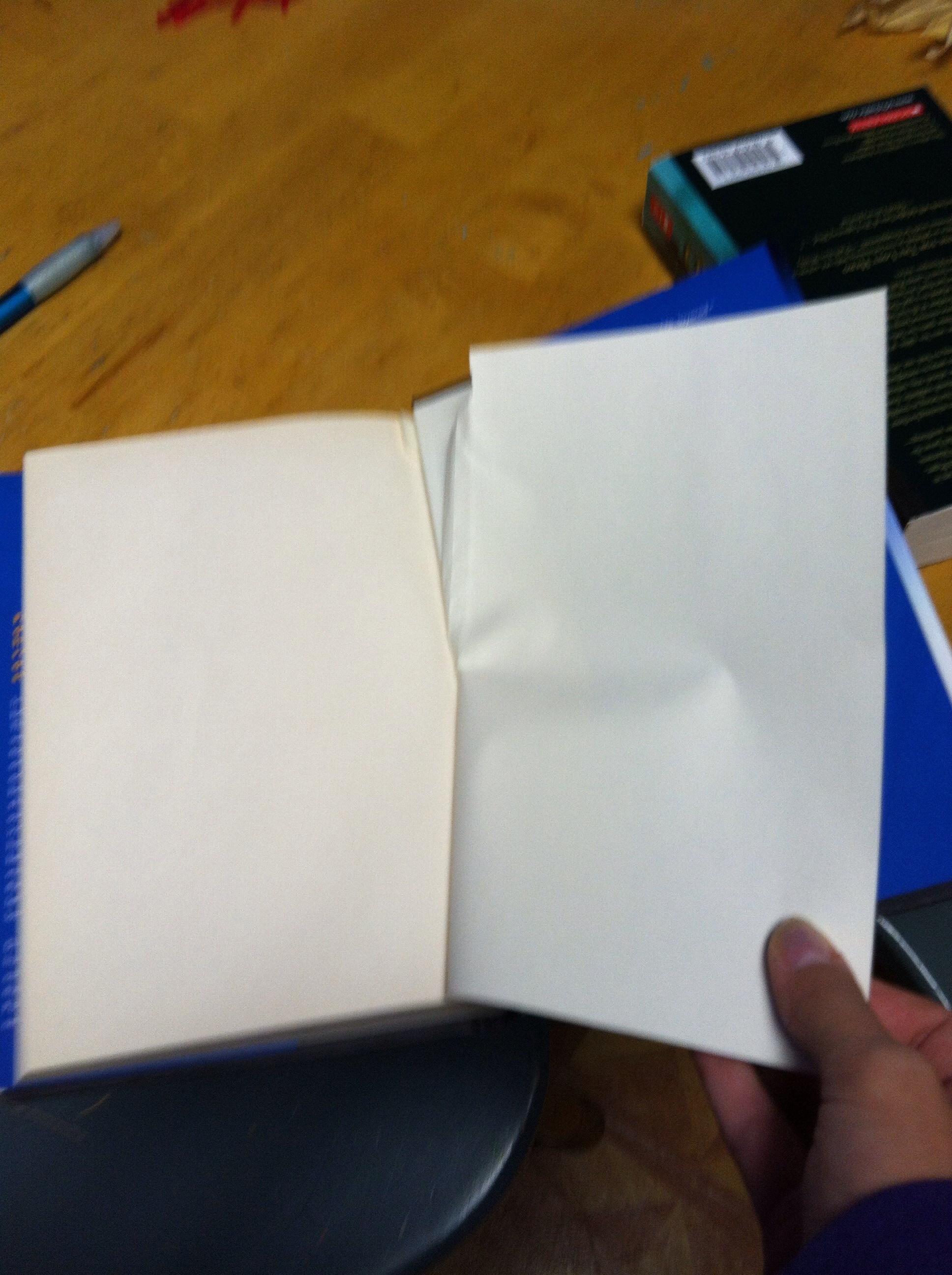 Picture of Blank Page