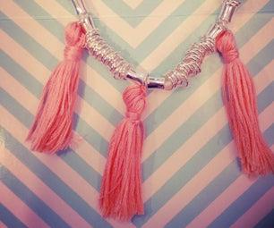 Tassel Necklace Www.DelanahBanana.com