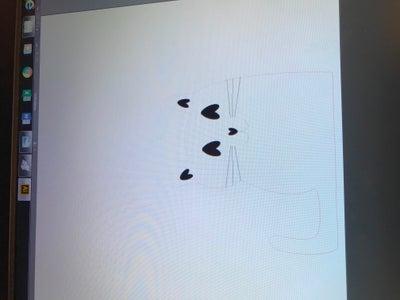 Het Maken Van De Katten Telefoonstandaard in Illustrator.