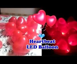 Heartbeat LED Balloon