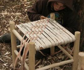Birch Bark Seat