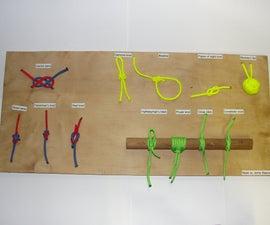 Paracord Knot Display Bord
