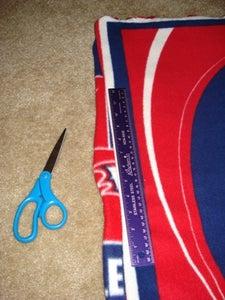 Trim and Prep Fabric