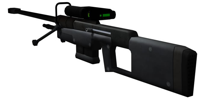 Picture of Make the Mag and the Bi Pod Xstr Things for  the Halo Look