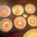 rainbow spong cupcake