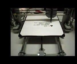CNC machine based on Prusa i3 Hephestos