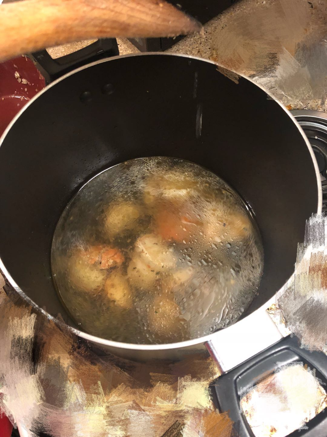Picture of Cooking Procedure - ADD WATER (Soup)