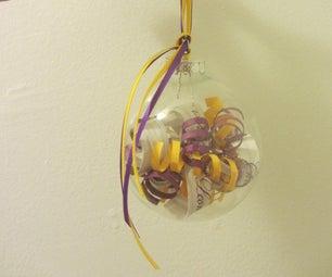 DIY Invitation Ornament