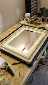 Assemble Frame and Mirror