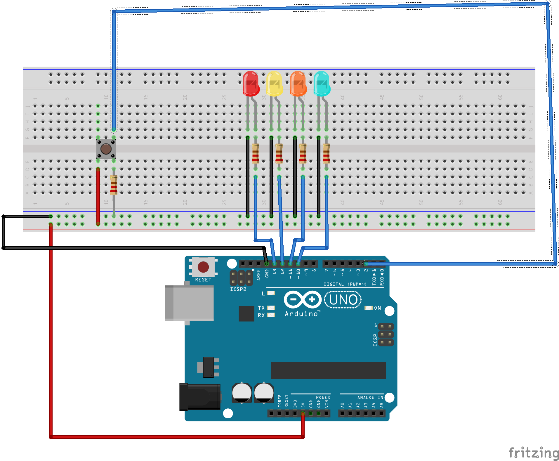 Picture of Finish Connections + Add Code