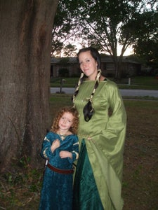 Elinor and Merida From Brave