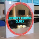INFINITY  MIRROR CLOCK UPDATED VERSIYON