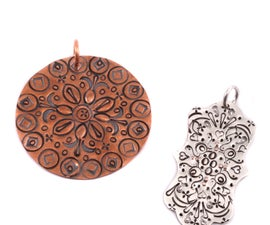 Mandala Stamping with Taryn McCabe at Beaducation  - Step by Step Jewelry Making Video Tutorial