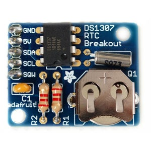 Build Real Time Clock (RTC) Module Test & Connect to Arduino Nano
