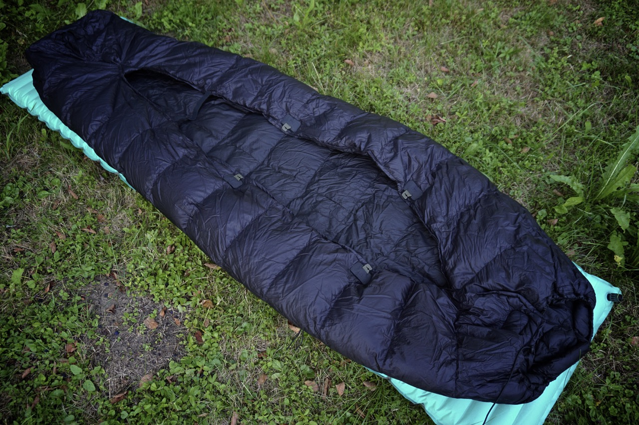 Picture of Sleeping Bag to Quilt Conversion