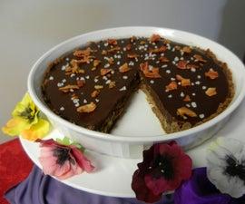 Power Loaded Chocolate Bacon Salted Caramel Tart