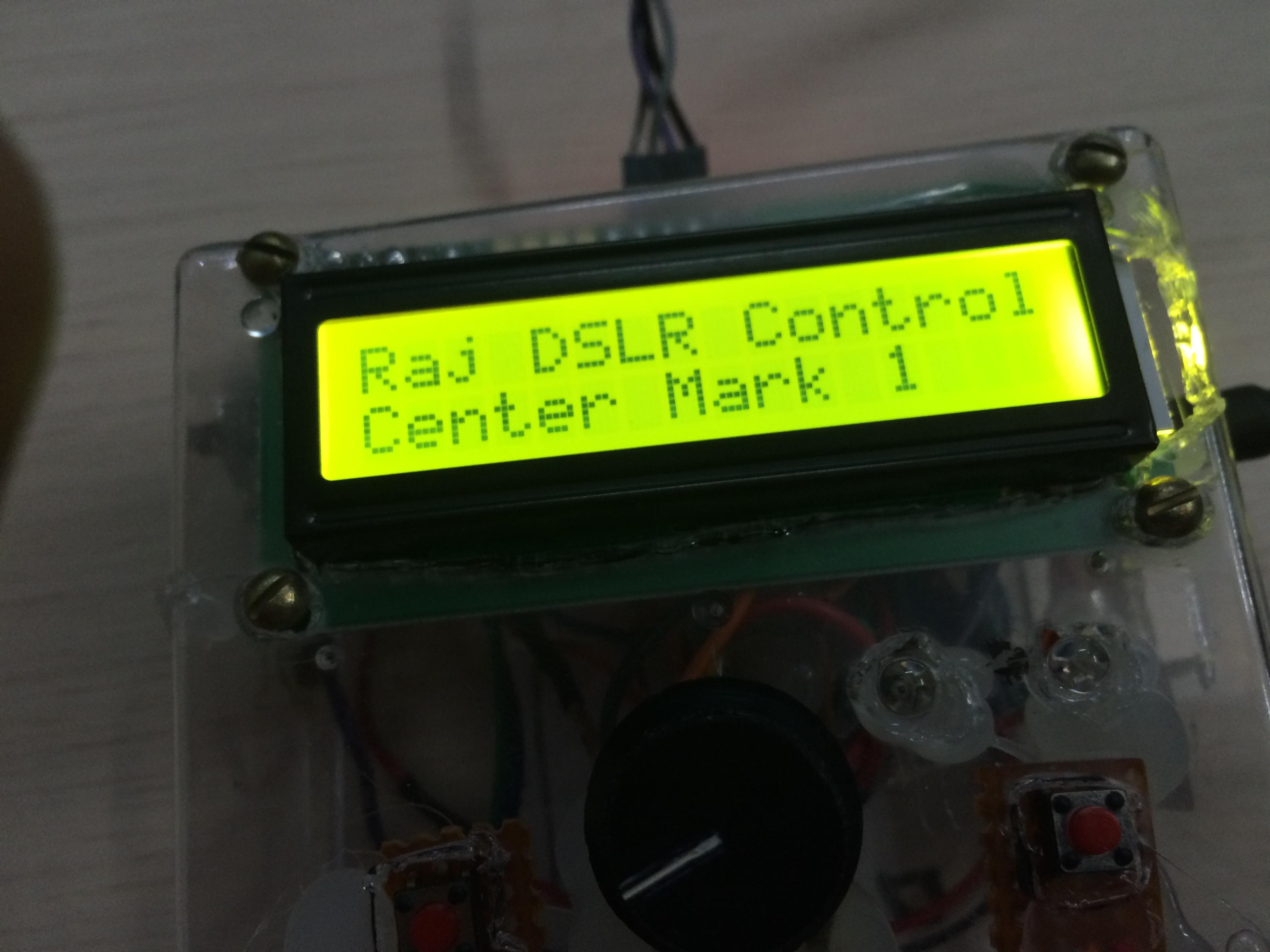 Picture of The Unique DSLR Intervalometer!