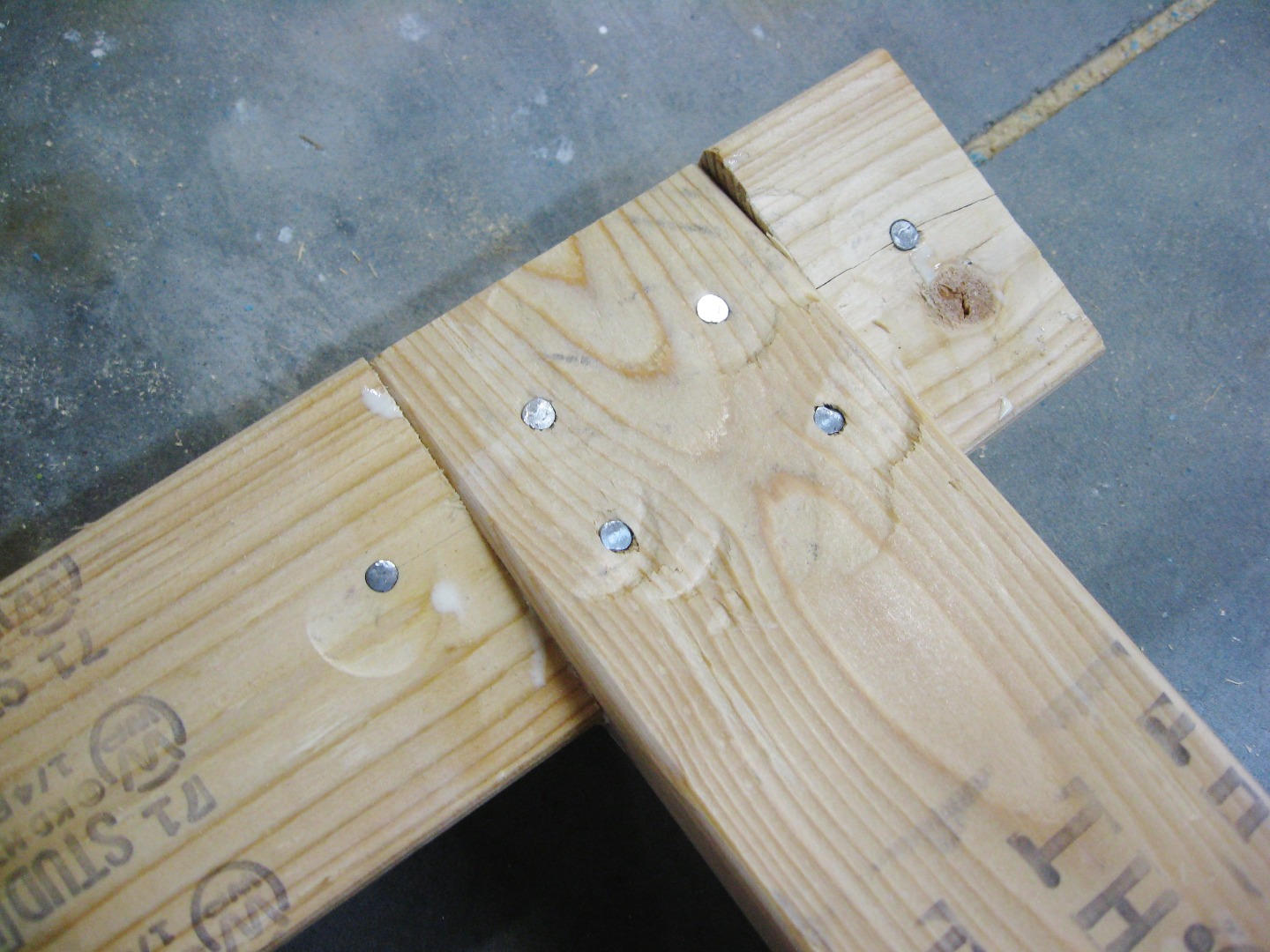 Picture of Fasten Legs to Beam