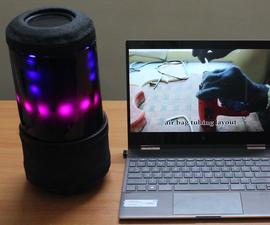 Sound Blink - a Unique DIY Portable Speaker Companion