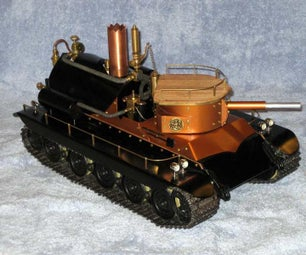 R/C Steam Turret Tank