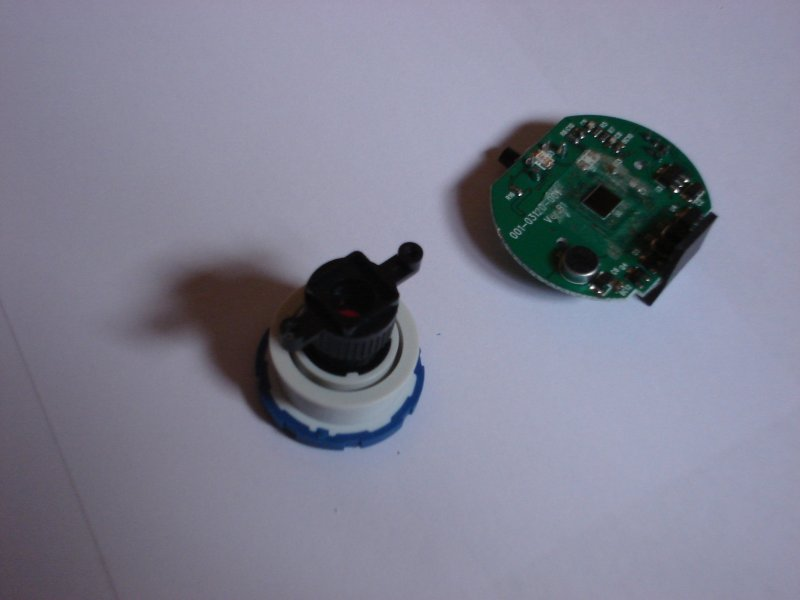 Picture of Seperate the Lens Enclosure From the PCB