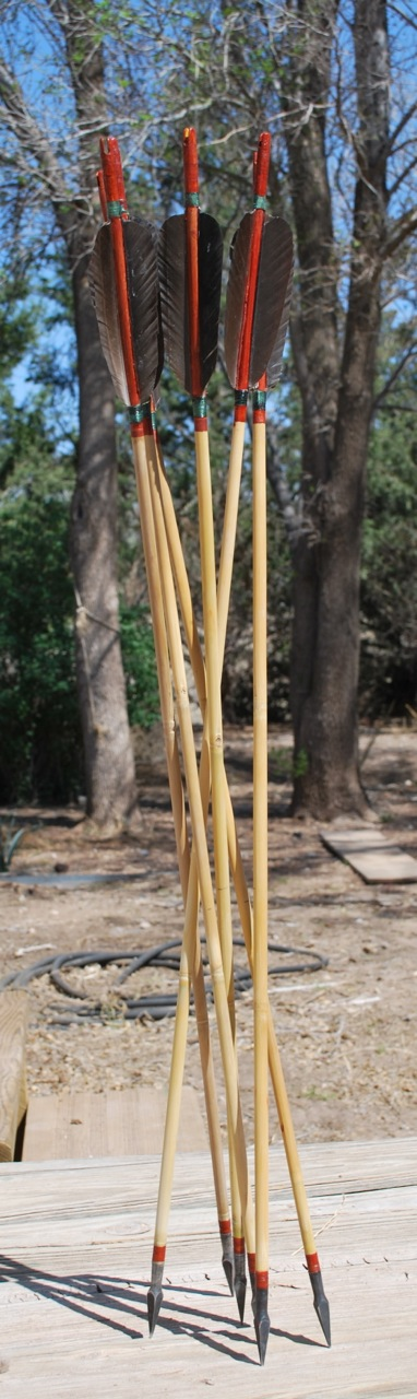 Picture of Making (quality) Bamboo Arrows