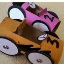 Tissue Roll Race Car