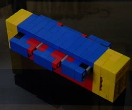 Lego Cryptex (Concept Model)