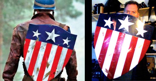 Less Than $20.oo WWII Captain America Shield
