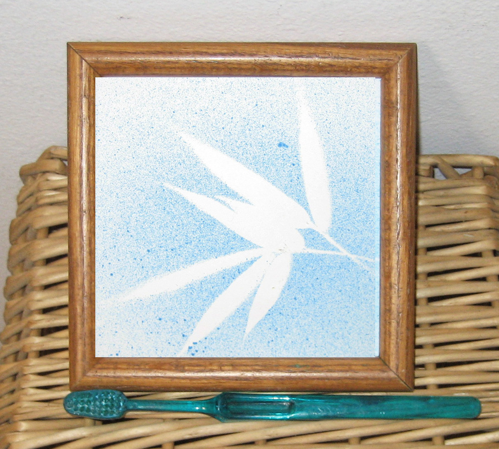 Picture of Toothbrush Painting