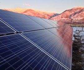 6.3 KiloWatt Ground Mount Home Solar Array