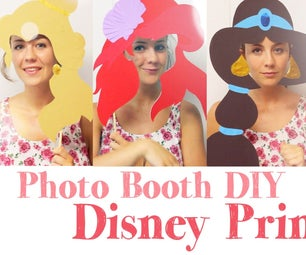 How to Make Disney Photo Booth DIY