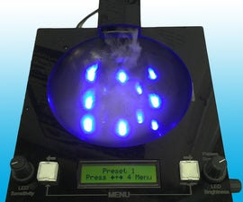PICAXE - Music Responsive, Fog Producing, LED Light Show and Audio Amplifier all in one