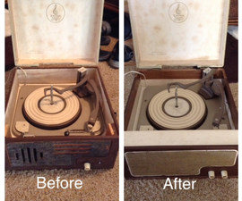 Tube Record Player Restoration
