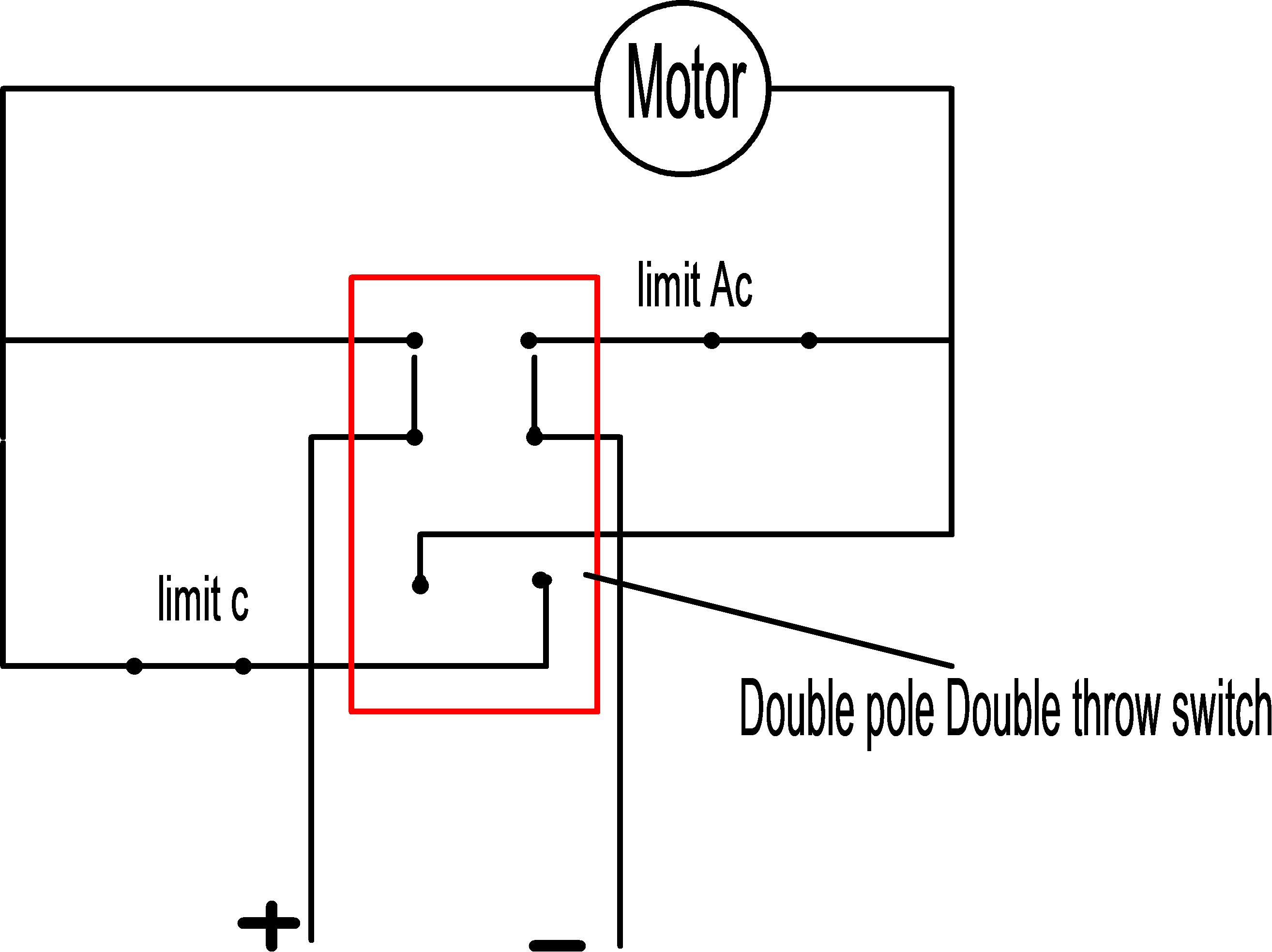 How Can Wire Up My Pan Tilt Motors Which Are Reversible Dc With Astak Camera Diagram The Stop Switches