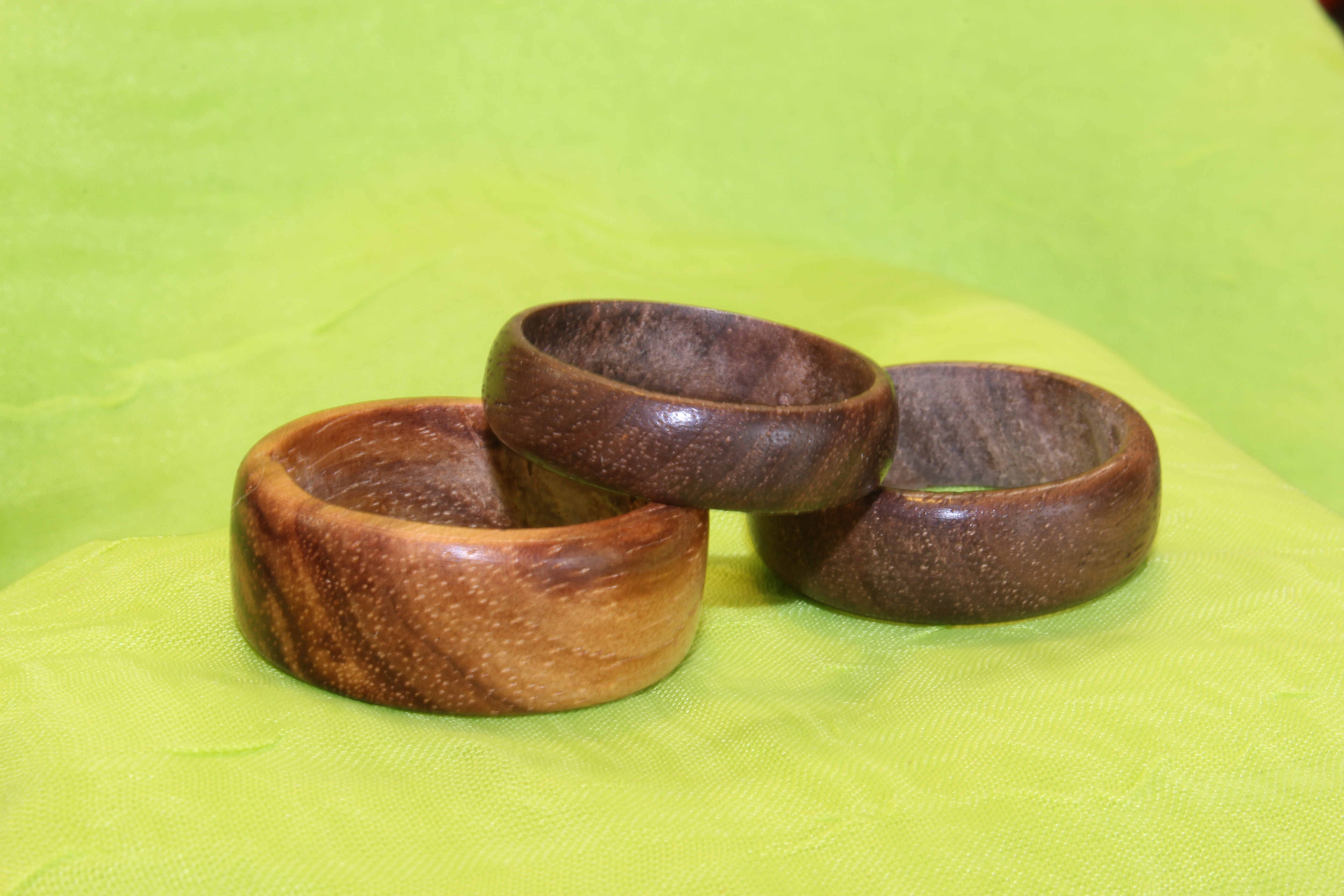 Picture of Rings Made From Solid Wood