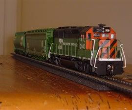 Train on a Shelf
