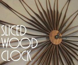Sliced Wood Clock