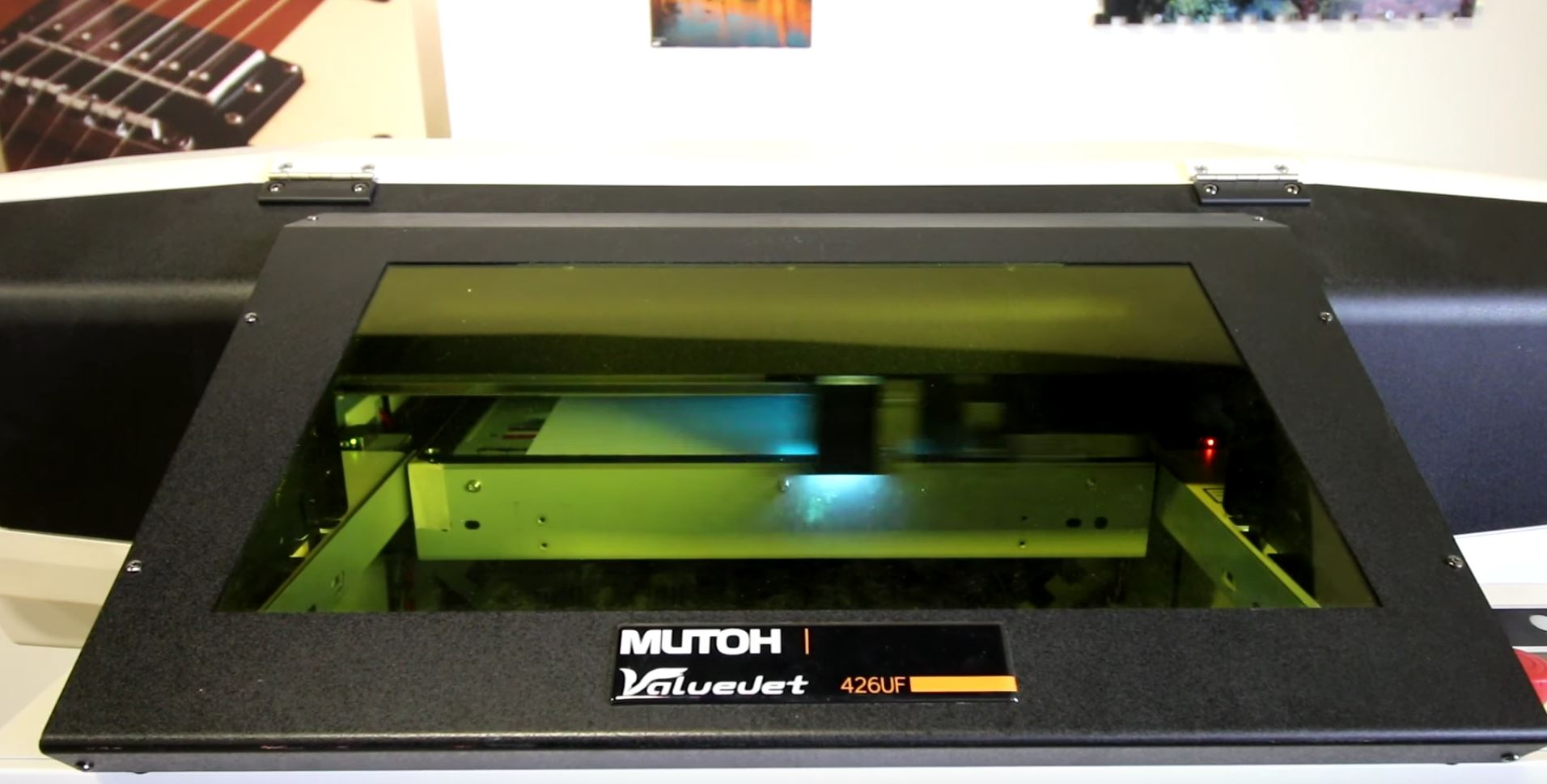 Picture of UV Printing the Back