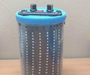 LIGHT BOX - a Portable Bluetooth Speaker With Vu Meter