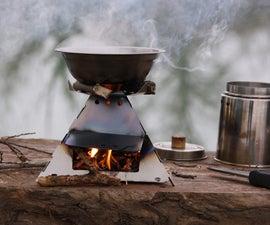 KP pyramid wood stove