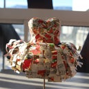 Paper Dancing Dress