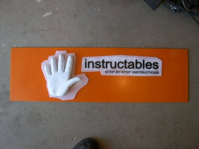 3D Insructable Sign
