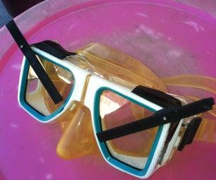 SCUBA Mask Wiper Blades
