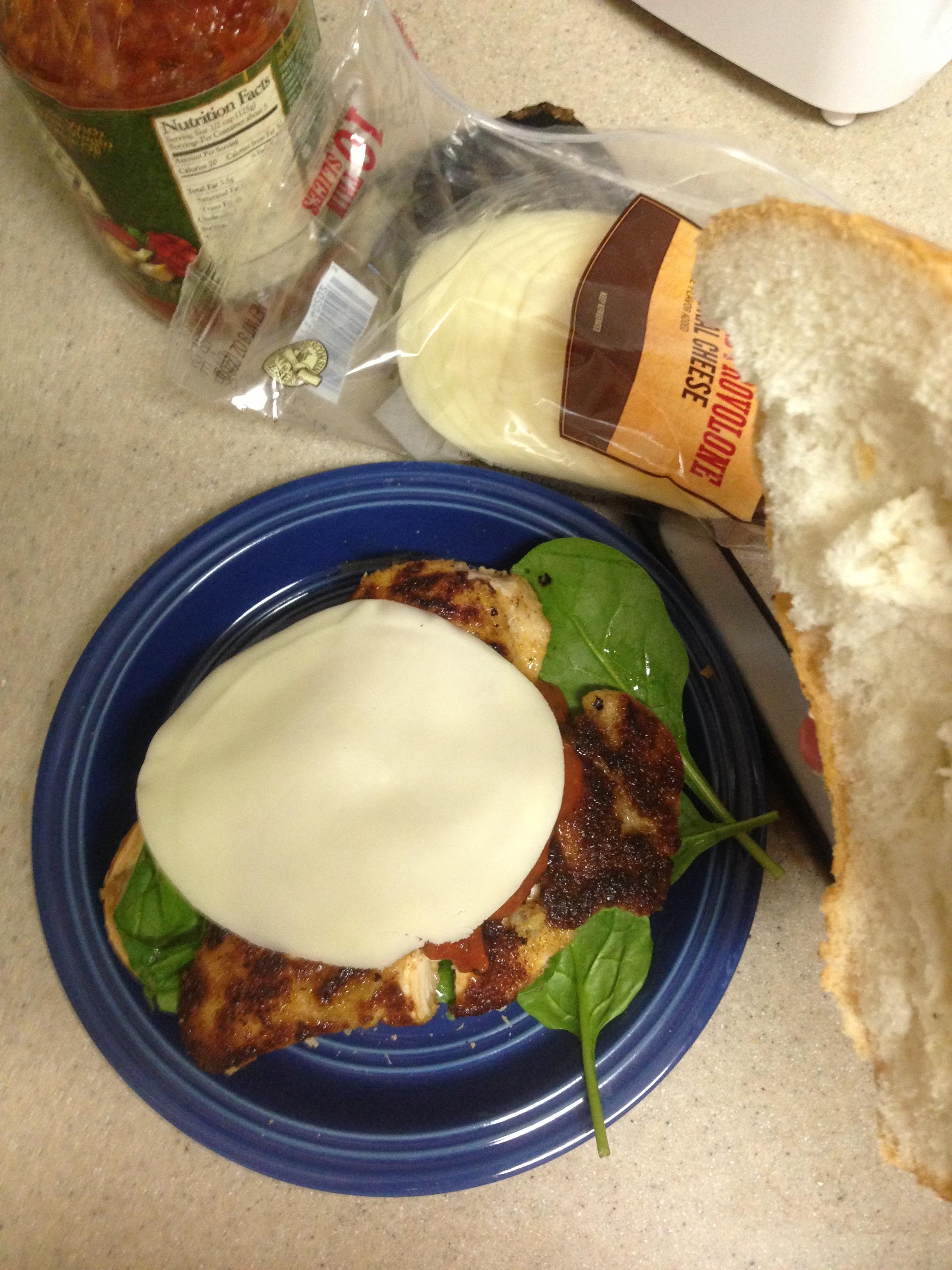 """Picture of """"El Emparedado"""" ('The Sandwich')"""