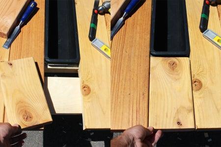 Cut Center Plank