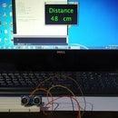 Distance Measuring Using UltraSonic Sensor and Arduino