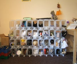 Modular Water Jug Storage Bins