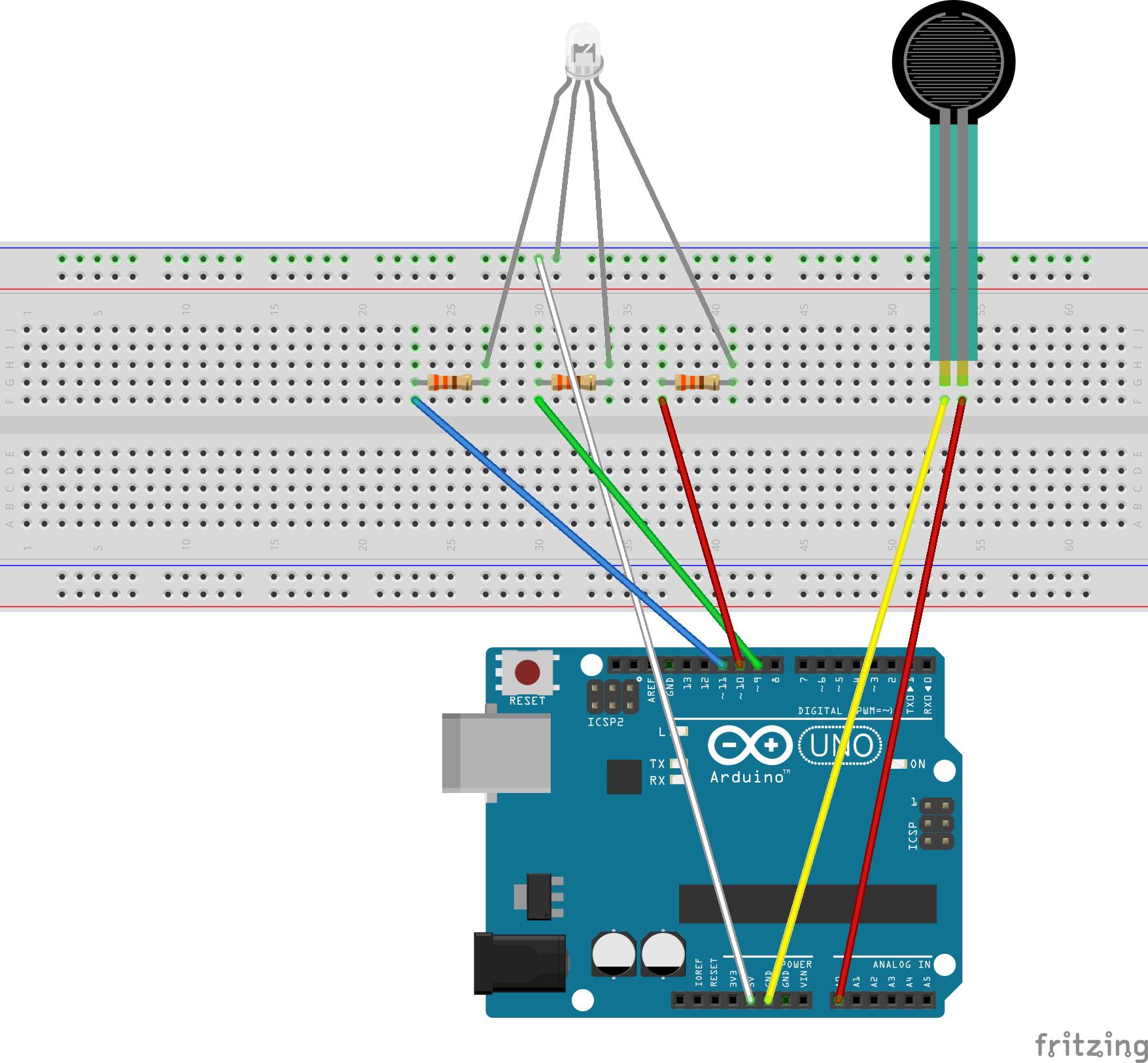 Picture of De Connecties (Breadboard)