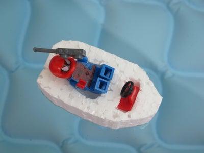 2-minutes LEGO Foam Boat for Kids